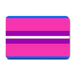 Transgender Flags Small Doormat  by Mariart