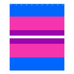 Transgender Flags Shower Curtain 60  X 72  (medium)  by Mariart