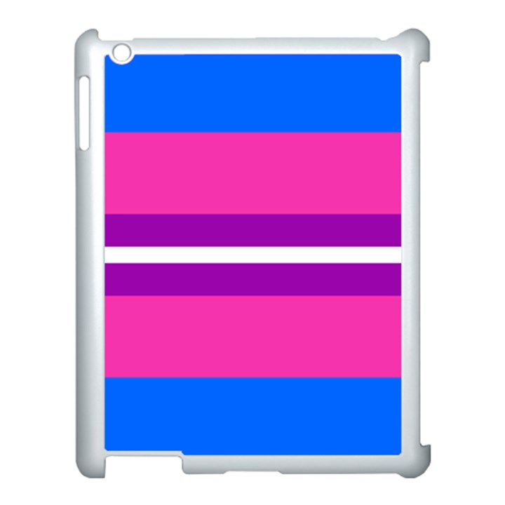 Transgender Flags Apple iPad 3/4 Case (White)