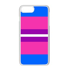 Transgender Flags Apple Iphone 7 Plus White Seamless Case
