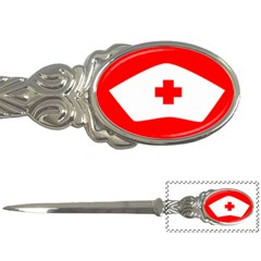 Tabla Laboral Sign Red White Letter Openers by Mariart