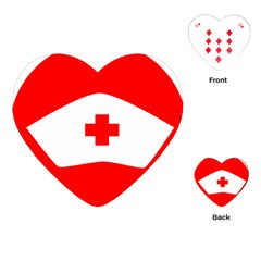 Tabla Laboral Sign Red White Playing Cards (heart)  by Mariart
