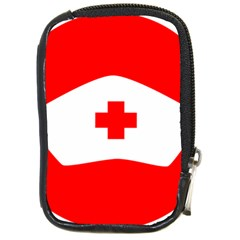 Tabla Laboral Sign Red White Compact Camera Cases by Mariart