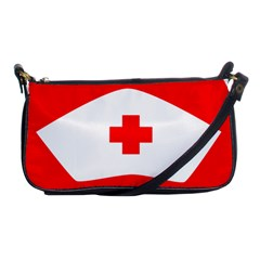 Tabla Laboral Sign Red White Shoulder Clutch Bags by Mariart