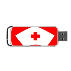 Tabla Laboral Sign Red White Portable Usb Flash (two Sides) by Mariart
