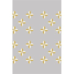 Syrface Flower Floral Gold White Space Star 5 5  X 8 5  Notebooks by Mariart