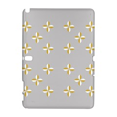 Syrface Flower Floral Gold White Space Star Galaxy Note 1 by Mariart