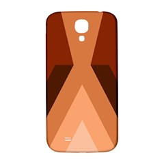 Volcano Lava Gender Magma Flags Line Brown Samsung Galaxy S4 I9500/i9505  Hardshell Back Case by Mariart