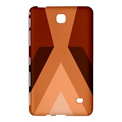 Volcano Lava Gender Magma Flags Line Brown Samsung Galaxy Tab 4 (7 ) Hardshell Case  by Mariart