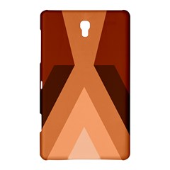 Volcano Lava Gender Magma Flags Line Brown Samsung Galaxy Tab S (8 4 ) Hardshell Case  by Mariart