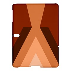 Volcano Lava Gender Magma Flags Line Brown Samsung Galaxy Tab S (10 5 ) Hardshell Case  by Mariart