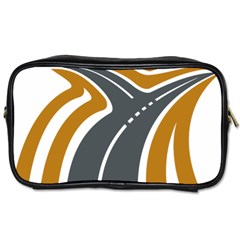 Transparent All Road Tours Bus Charter Street Toiletries Bags