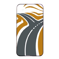 Transparent All Road Tours Bus Charter Street Apple Iphone 4/4s Seamless Case (black) by Mariart