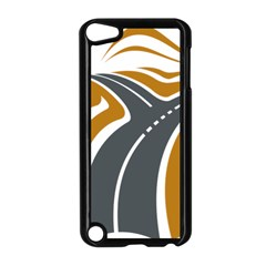 Transparent All Road Tours Bus Charter Street Apple Ipod Touch 5 Case (black) by Mariart