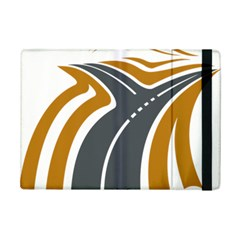Transparent All Road Tours Bus Charter Street Ipad Mini 2 Flip Cases by Mariart