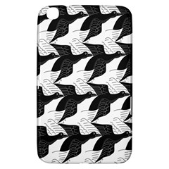 Swan Black Animals Fly Samsung Galaxy Tab 3 (8 ) T3100 Hardshell Case  by Mariart