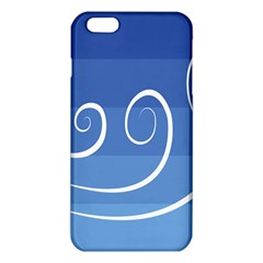 Ventigender Flags Wave Waves Chevron Leaf Blue White Iphone 6 Plus/6s Plus Tpu Case by Mariart