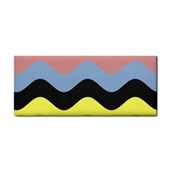Wave Waves Chevron Sea Beach Rainbow Cosmetic Storage Cases by Mariart