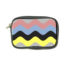 Wave Waves Chevron Sea Beach Rainbow Coin Purse by Mariart