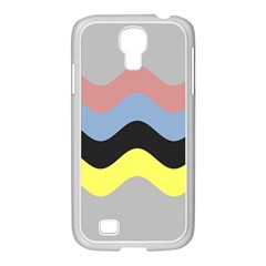Wave Waves Chevron Sea Beach Rainbow Samsung Galaxy S4 I9500/ I9505 Case (white) by Mariart