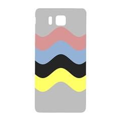 Wave Waves Chevron Sea Beach Rainbow Samsung Galaxy Alpha Hardshell Back Case by Mariart