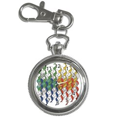 Rainbow Fish Key Chain Watches by Mariart