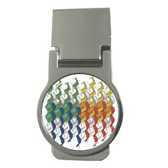 Rainbow Fish Money Clips (round)  by Mariart