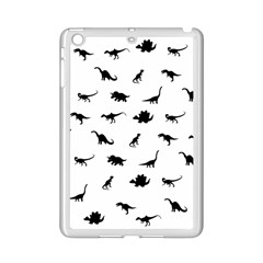 Dinosaurs Pattern Ipad Mini 2 Enamel Coated Cases by Valentinaart