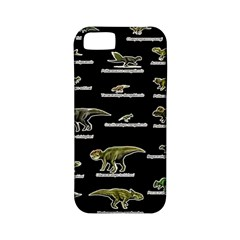 Dinosaurs Names Apple Iphone 5 Classic Hardshell Case (pc+silicone) by Valentinaart