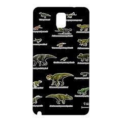 Dinosaurs Names Samsung Galaxy Note 3 N9005 Hardshell Back Case