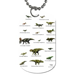Dinosaurs Names Dog Tag (one Side) by Valentinaart