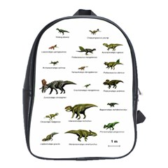 Dinosaurs Names School Bags(large)