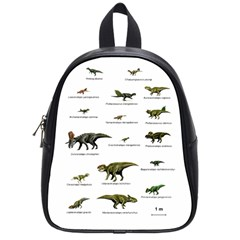 Dinosaurs Names School Bags (small)  by Valentinaart