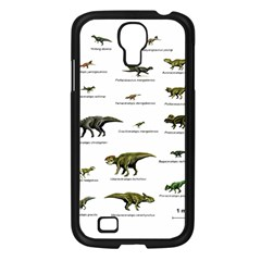 Dinosaurs Names Samsung Galaxy S4 I9500/ I9505 Case (black)