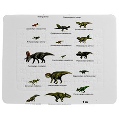 Dinosaurs Names Jigsaw Puzzle Photo Stand (rectangular) by Valentinaart