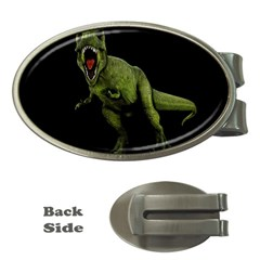 Dinosaurs T Rex Money Clips (oval)  by Valentinaart