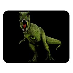 Dinosaurs T Rex Double Sided Flano Blanket (large)