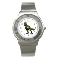 Dinosaurs T Rex Stainless Steel Watch