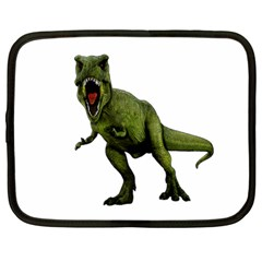 Dinosaurs T Rex Netbook Case (large) by Valentinaart