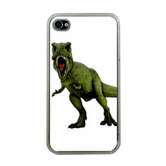 Dinosaurs T Rex Apple Iphone 4 Case (clear)