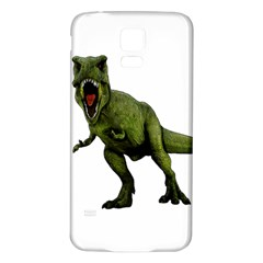 Dinosaurs T Rex Samsung Galaxy S5 Back Case (white)