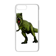 Dinosaurs T Rex Apple Iphone 7 Plus White Seamless Case