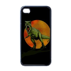 Dinosaurs T Rex Apple Iphone 4 Case (black) by Valentinaart