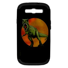 Dinosaurs T Rex Samsung Galaxy S Iii Hardshell Case (pc+silicone)