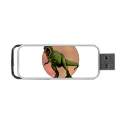 Dinosaurs T Rex Portable Usb Flash (one Side)