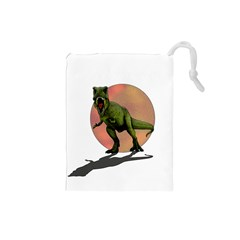 Dinosaurs T Rex Drawstring Pouches (small)