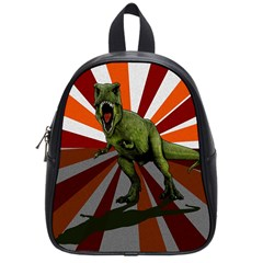 Dinosaurs T Rex School Bags (small)