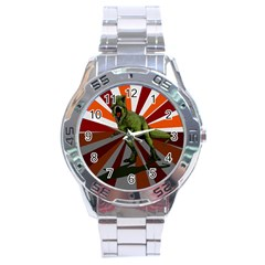 Dinosaurs T-rex Stainless Steel Analogue Watch