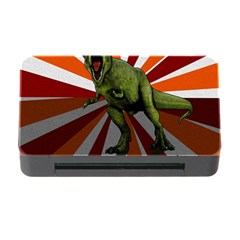 Dinosaurs T Rex Memory Card Reader With Cf by Valentinaart