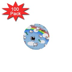 Sweet Dreams  1  Mini Buttons (100 Pack)
